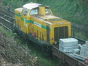 Locomotives de travaux ex V100 DB